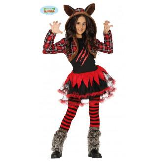 Halloween - Kostým vlčice - dětská