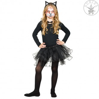 Kostýmy - Tylová sukně černá