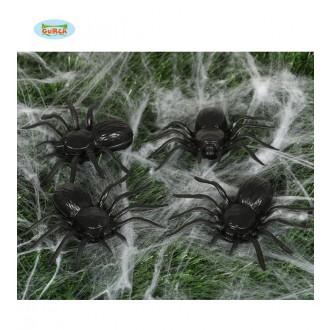 Čarodějnice - Pavouci černí - 4 kusy