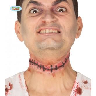 Halloween - Imitace přišité hlavy