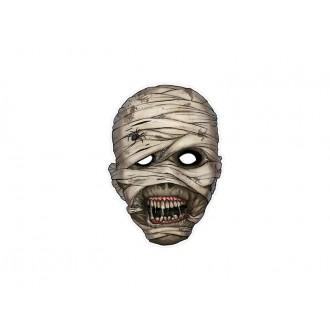 Halloween - Kartonová maska mumie