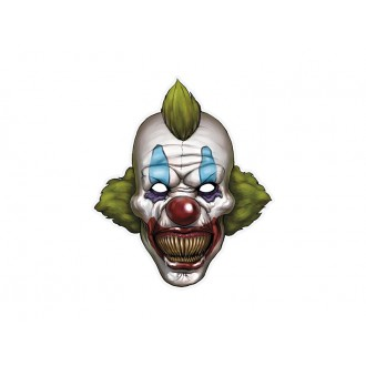 Halloween - Kartonová maska klaun