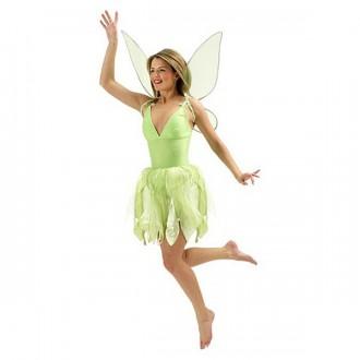 Televizní hrdinové - Zvonilka - kostým s křídly - licenční kostým