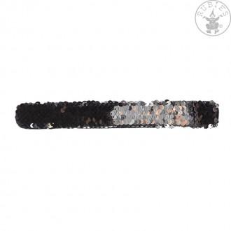Bižuterie - Zaklapovací flitrový náramek