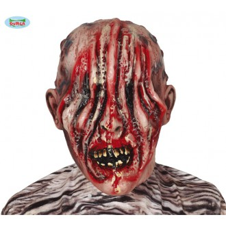 Halloween - Latexová maska zombie bez očí