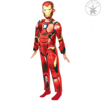 Kostýmy - Iron Man Avengers Deluxe - dětský