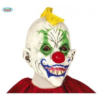 """Masky - Maska klauna se žlutým """"kohoutem"""""""