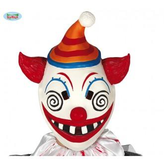Halloween - Latexová maska KLAUN