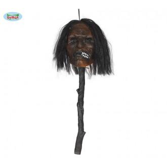 Halloween - Propíchnutá hlava - 53 cm