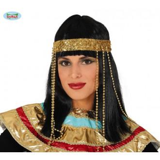Paruky - Egypťanka - paruka s diademem