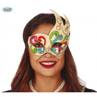 Masky - Barevná benátská maska