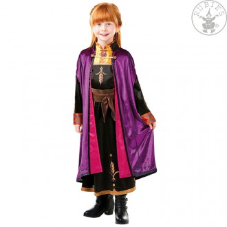 Kostýmy - Kostým Anna dětský - Ledové království 2