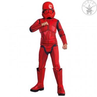 Kostýmy - Červený Stormtrooper Deluxe  EP. IX - dětský