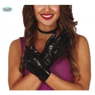 Rukavice - Černé rukavice krátké