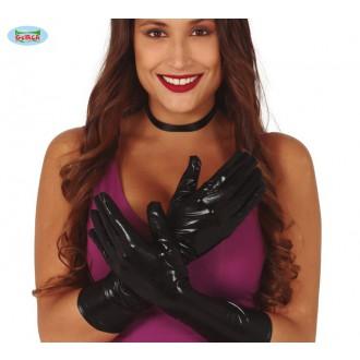 Rukavice - Černé rukavice dlouhé