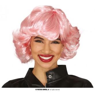 Paruky - Růžová paruka dámská