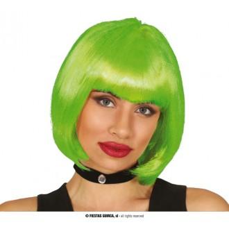 Paruky - Dámská paruka zelená Rachel