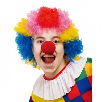 Paruky - Paruka multicolor - klaun