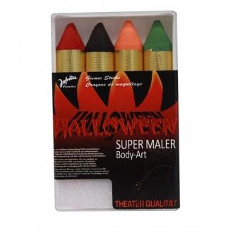 Halloween - Líčidla - tužky tlusté Halloween