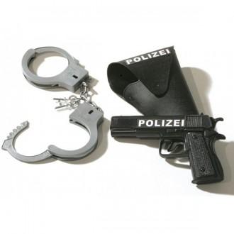 Doplňky - Policejní set 3dílný pistole