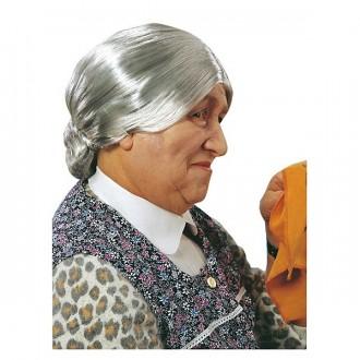 Paruky - Babička - karnevalová paruka