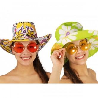 Brýle - Velké brýle Hippie - mix barev