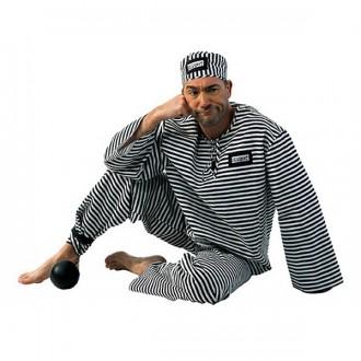 Kostýmy - Kostým pro dospělé - vězeň