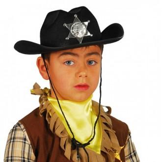 Klobouky, čepice - Dětský kovbojský klobouk filcový
