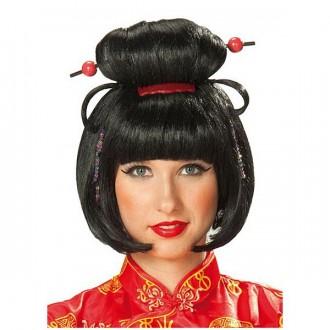 Paruky - Geischa Girl - karnevalová paruka
