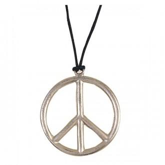 Bižuterie - Náhrdelník - Peace prům. 6,5 cm