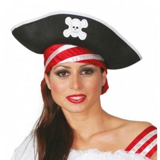 Piráti - Pirátský klobouk filcový