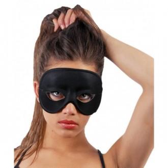 Masky - Černé domino - maska