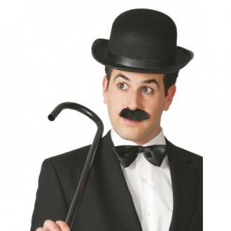 Klobouky, čepice - Buřinka Chaplin černá