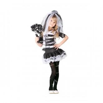 Kostýmy - Černobílá nevěsta