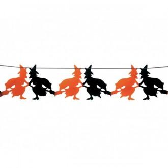 Halloween - Girlanda čarodějnice 23 x 300 cm
