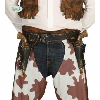 Kovbojové - Pouzdra na pistole s pistolemi 29 cm