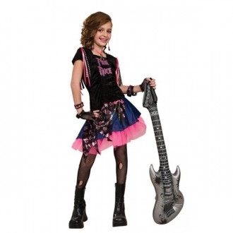 Kostýmy - Pink Rock Girl