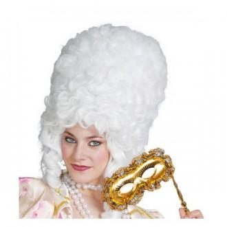 Paruky - Paruka dámská barokní bílá