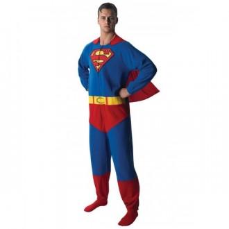 08eab79dced8 Superman Onesie - kostým pro dospělé - Svět masek.cz