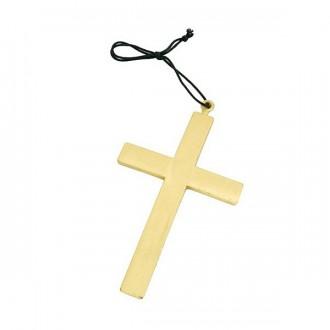 Bižuterie - Kříž velký plastový