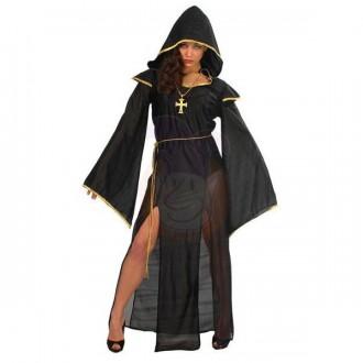 Halloween - Dáma z temnot - kostým černý