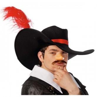 Klobouky, čepice - Mušketýr - klobouk