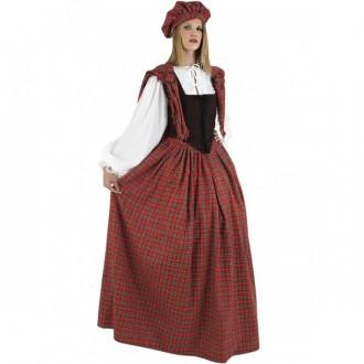 Kostýmy - Kostým skotská dívka