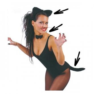 Doplňky - Set kočička pro dospělé