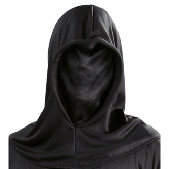 Masky - Maska černá průzračná