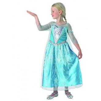 Kostýmy - Prémiové šaty princezna Elsa