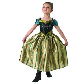 Kostýmy - Anna - dětský korunovační  kostým