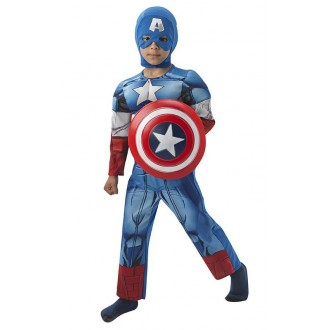 Kostýmy - Captain America Deluxe Child