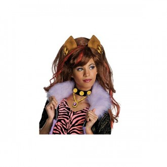 Paruky - Clawdeen Wolf - paruka Monster High - licence