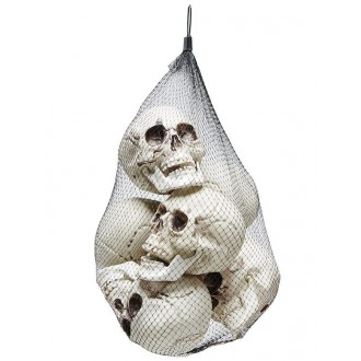 Halloween - Lebky 14 x 10 cm v síťce